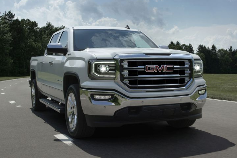 The most and least recalled vehicles have been identified, which include the 2016 GMC Sierra SLT...