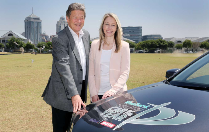 FCA South Africa CEO Graham Eagle (left) previously worked as vice president for South Africa Operations for Honda.  - Photo courtesy of Honda