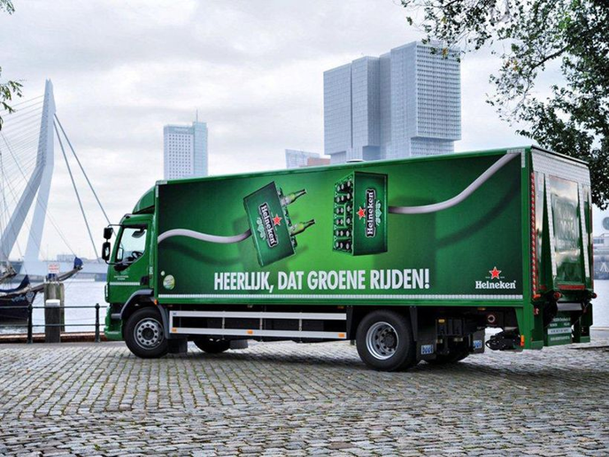 Heineken International established a road safety improvement program that is designed to measure, report, and verify driver behavior habit. - Photo via Ceekon/Wikimedia Commons.
