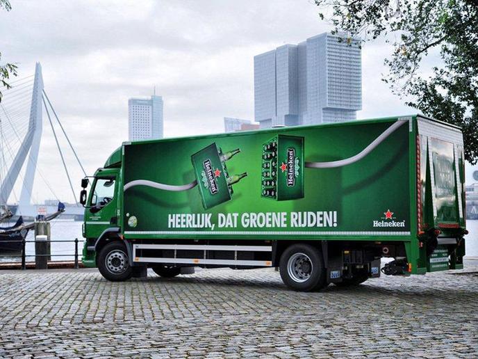 Heineken International established a road safety improvement program that is designed to measure, report, and verify driver behavior habit. - Photo via Ceekon/Wikimedia Commons.