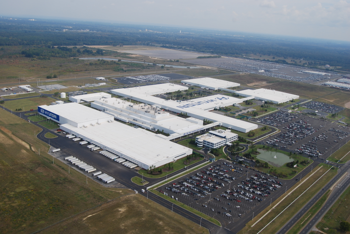The newly-launched Hyundai Motor North America Headquarters will encompass Hyundai Motor Manufacturing Alabama, the company's production hub for the Americas, and three sales units. - Photo courtesy of Hyundai.