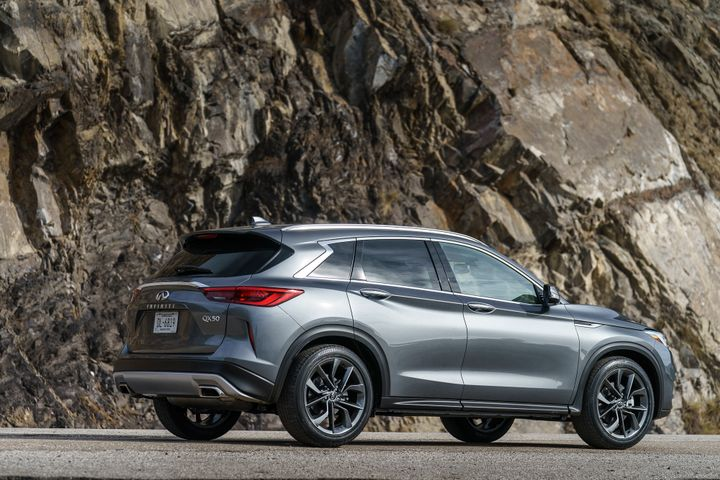 Infiniti's 2019 QX50 will be the first Infiniti model with Nissan's ProPilot semi-autonomous driver-assist system.