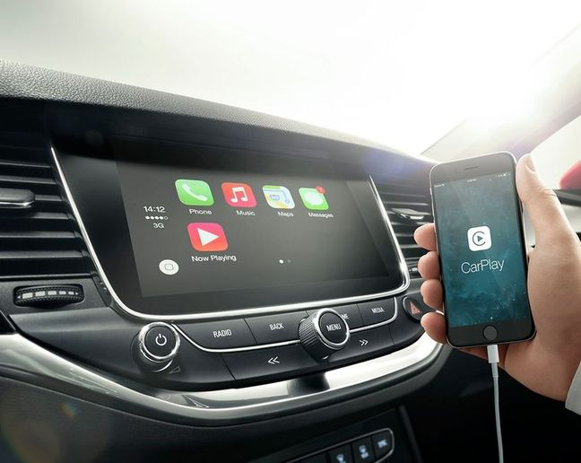 Both CarPlay and Android Auto systems generated a moderate level of demand while the built-in/native systems called for very high levels of demand. - Photo courtesy ofAstra K - bestens vernetzt   Mit Opel OnStar, der jüngsten G via Flickr