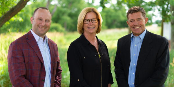 (l. to r.) Adam Berger, Nan Henricks, and Chip Doering are leading Doering Fleet Management's...