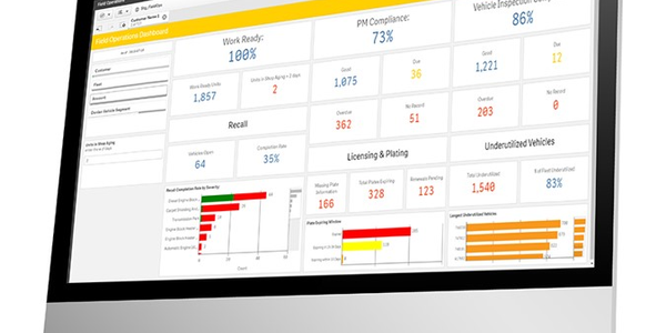 Donlen has updated its fleet management platform so it more quickly flags KPIs.