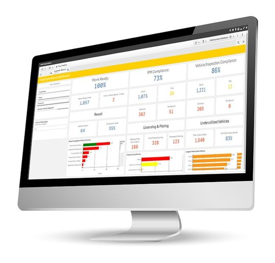 Donlen has updated its fleet management platform so it more quickly flags KPIs.