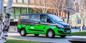 Fleets Testing Ford Transit Custom PHEVs in Spain