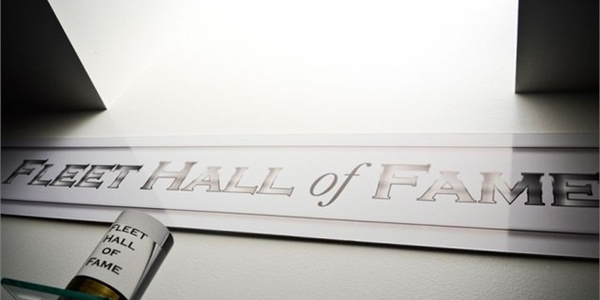 The Fleet Hall of Fame was instituted in 2008. Three new members will be added in 2018.