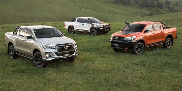The Toyota Hilux was the top selling pick-up truck in the South African market in May.
