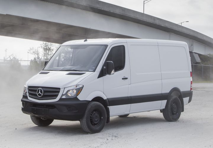 Daimler Vans USA is recalling its 2017-MY Mercedes-Benz and Freightliner Sprinters (Worker model shown) for structural issues.