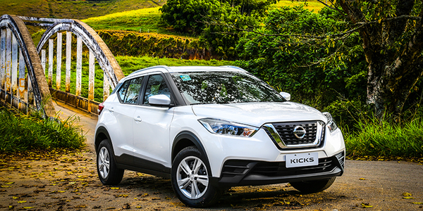 Photo of the Nissan Kicks courtesy of Nissan.