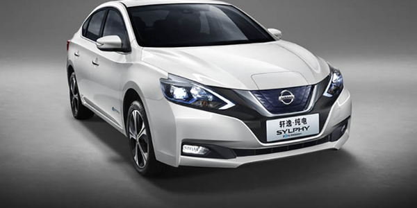 The Sylphy Zero Emission is Nissan's first mass-production electric vehicle aimed at the Chinese...