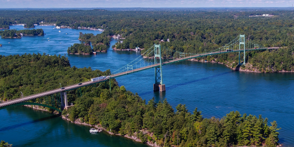 A toll bridge from New York to Canada has upgraded its toll payment platform.