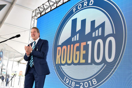 Ford Building its F-150 Hybrid at Rouge