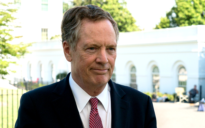 "U.S. Trade Representative Robert Lighthizer described China's heightened U.S. auto import tariffs as ""egregious"" in a statement.