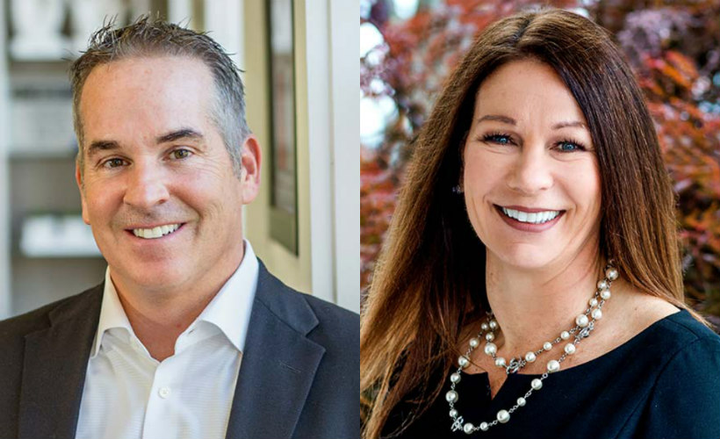 Merchants Fleet'sCEO Brendan Keegan and Jeanine Charlton, chief technology officer and senior vice president, have been named to the Forbes Technology Council.  - Photos courtesy of Merchants Fleet.