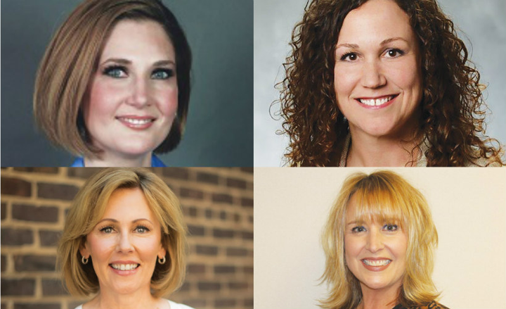 Automotive Fleet has been profiling leading women in fleet for more than a year, including (clockwise from upper left) Lee Pierce, Erin Gilchrist, Michelle Bartlett, and Kristi Webb.  - Photos submitted by subjects.