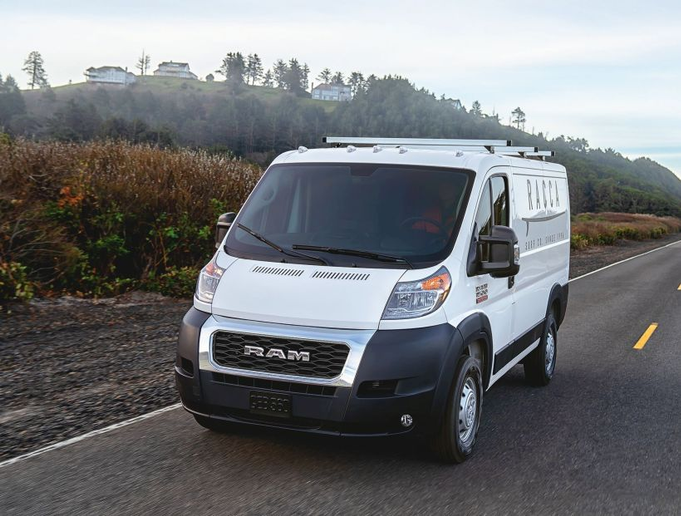 The Ram ProMaster and ProMaster City vans have also received updates to their exterior and now include the RAM grille theme from the automakers line of pickup trucks - Photo courtesy of FCA.