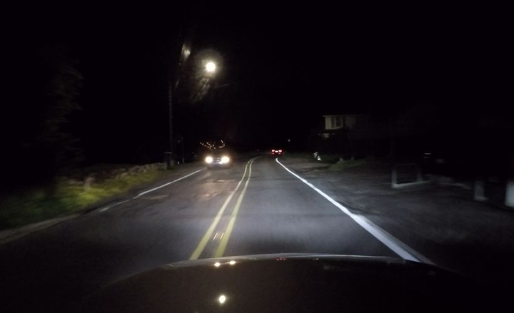 European vehicles with adaptive driving beam headlights increase roadway lighting by as much as 86% compared to low-beam headlights in the U.S.