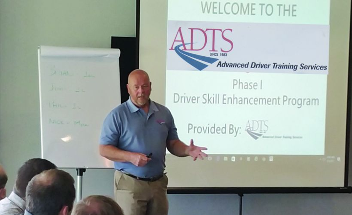 Advanced Driver Training Services will begin offering Special Topic Presentations on distracted driving and other high-impact safety concepts.