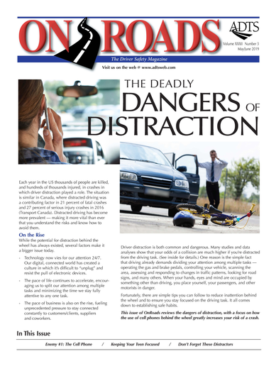 Fleet driver training provider ADTS has begun selling its OnRoads publication. - Photo courtesy of ADTS.