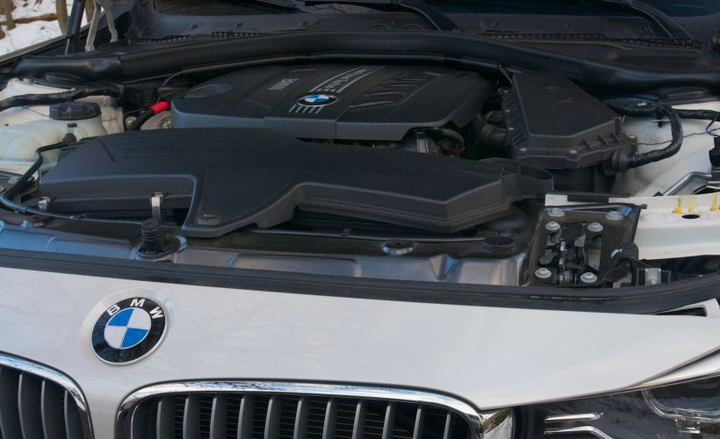 BMW is recalling six of its diesel models, including the 328d (shown), for a defect involving the cooling module in the exhaust gas recirculation system.