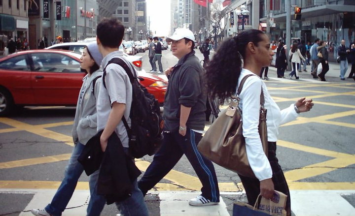 The National Transportation Safety Board has developed 11 new initiatives for reducing pedestrian fatalities.  - Photo via Gary J. Wood/Wikimedia.
