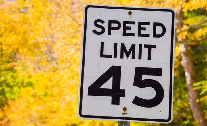 Increasing the posted speed limit by 5 mph can increase the fatality rate by 8%, according to a new IIHS study.  - Photo via PublicDomainPictures.net.