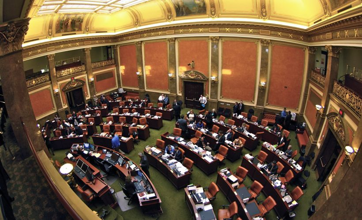 The Utah House of Representatives voted against a bill that would have imposed a ban on drivers using cellphones.  - Photo via Utah State Legislature/Wikipedia.