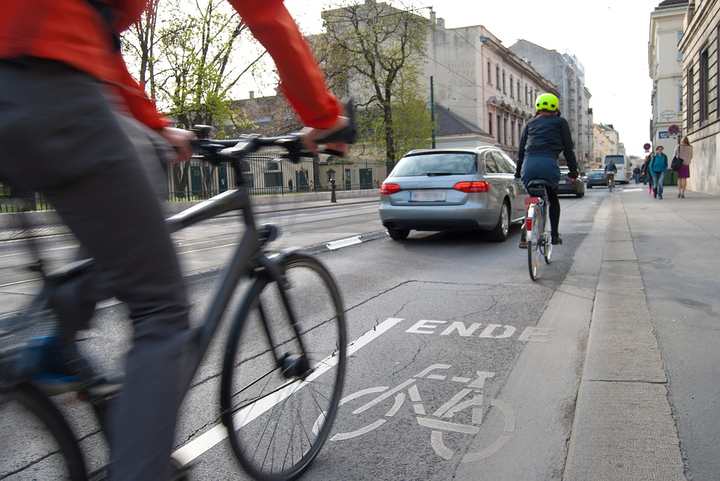 Volvo has begun tests with a Swedish bicycle equipment manufacturer of helmets vs autos.  - Photo via Pixabay.