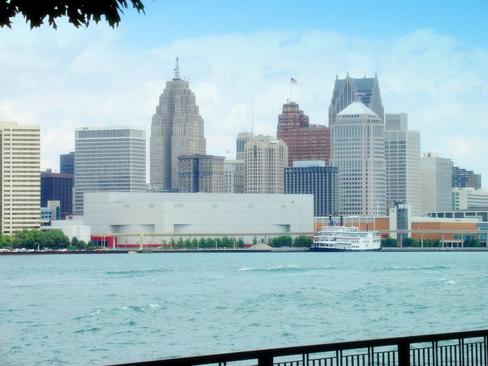 Detroit (shown here in 2010) has been ranked as the worst city for drivers.