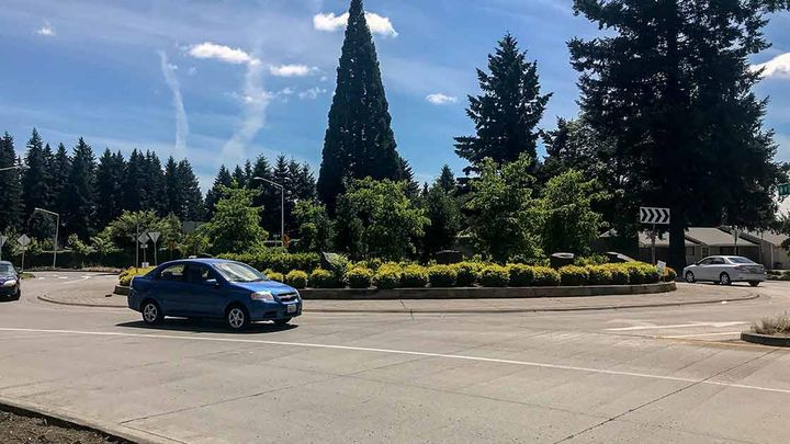 Two-land roundabouts are significantly reducing the number of crashes at intersections in the state of Washington.