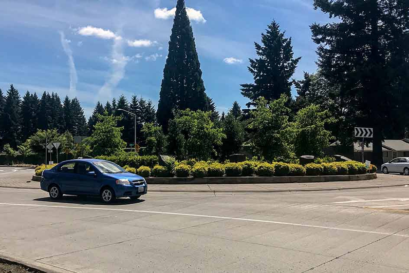 Two-land roundabouts are significantly reducing the number of crashes at intersections in the...