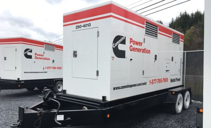Cummins has recalled its Power Generation trailers for a remote emergency stop defect.  - Photo via IronPlanet.