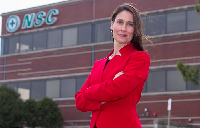 Deborah Hersman is leaving the top post at the National Safety Council to lead safety at Waymo.