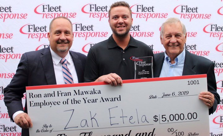 Accident management provider Fleet Response has earned recognition as a top workplace in Ohio.  - Photo courtesy of Fleet Response.