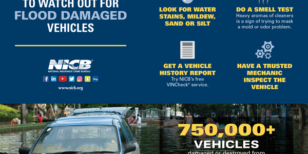 Hurricanes from 2018 have caused a spike in insurance claims for flooded vehicles in southwest...