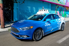 Ford Continues Work on Self-Driving Ride-Hailing