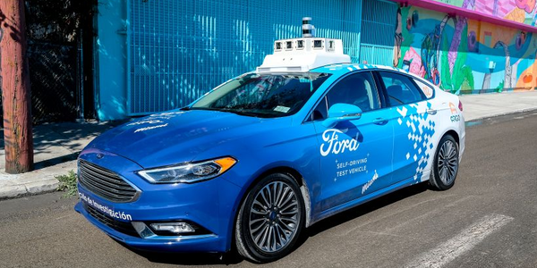 Ford and Argo AI continue development of an autonomous ride-hailing business.