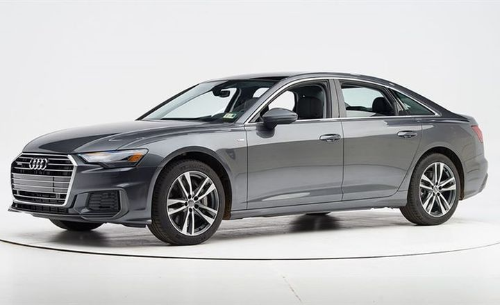 Audi's 2019 A6 (shown) and Q8 have been named top safety picks by the Insurance Institute of Highway Safety.
