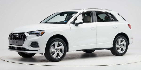 Audi's 2019 Q3 has earned a Top Safety Pick+ for its crashworthiness and optional LED headlights.