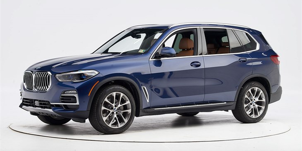 The 2019 BMW X5 has earned the Insurance Institute of Highway Safety's Top Safety Pick+, when...