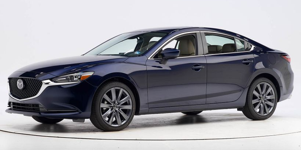 The 2019 Mazda Mazda6 is an IIHS Top Safety Pick when equipped with specific headlights.