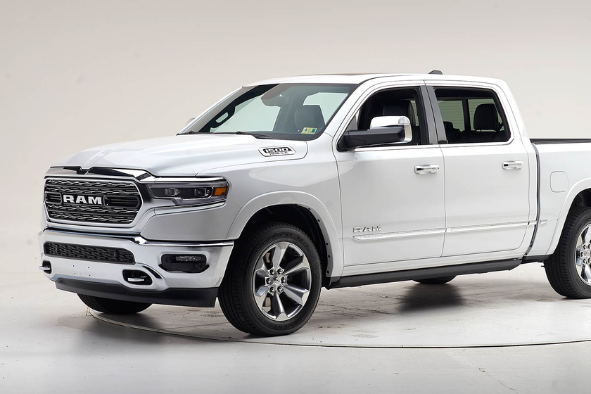 The 2019 and 2020 Ram 1500 is the first large pickup toearna Top Safety Pick+ from the IIHS.