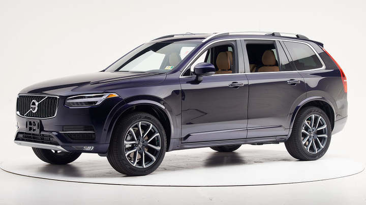 Volvo's 2019 XC90 has also been named a Top Safety Pick.