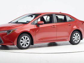 2020 Toyota Corolla Sedan Earns Top Safety Pick