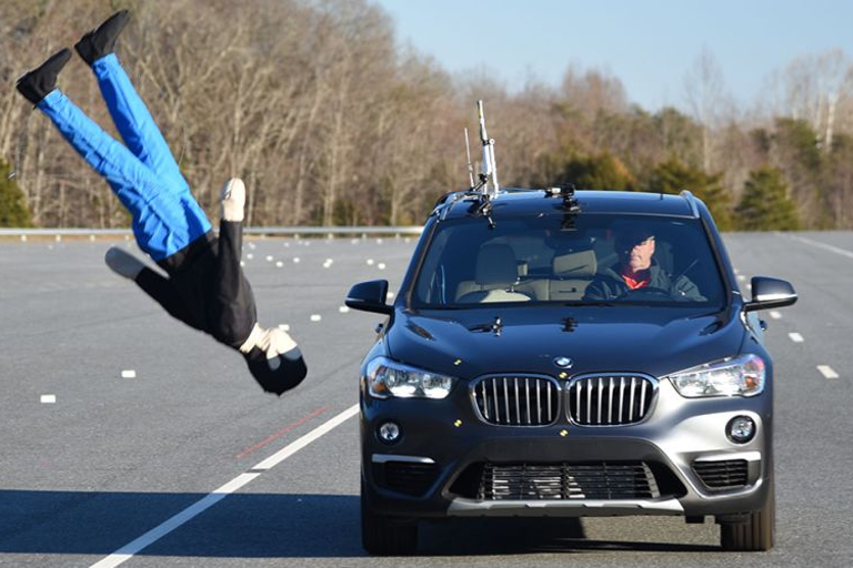 Nine compact SUVs have fared well in the new IIHS pedestrian safety test.