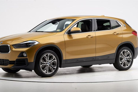 Improved BMW X2 Earns Top Safety Pick