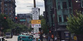 Speeding Declines After Boston Reduces Limit