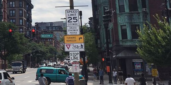 Excessive speeding has declined significantly in Boston after the city lowered the speed limit...